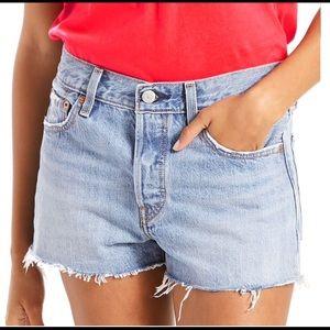 Levi's 501 Shorts NWT Size 25